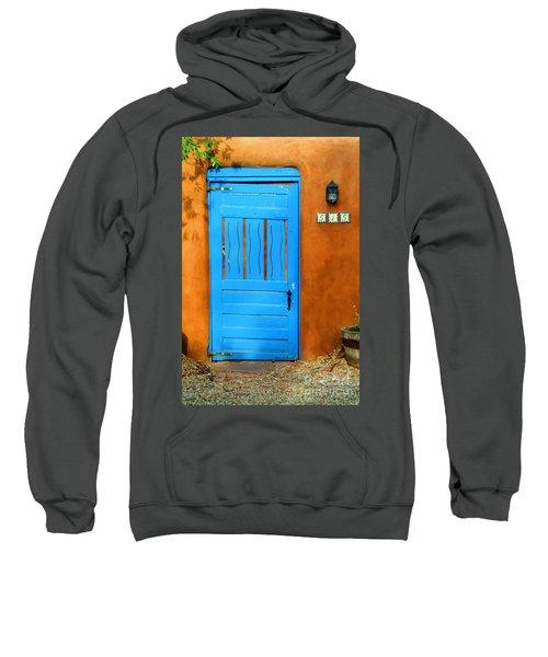 Blue Door In Santa Fe Sweatshirt