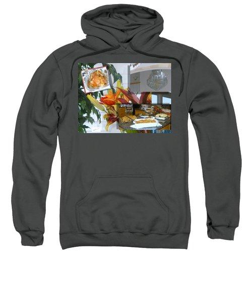 Holiday Collage Sweatshirt