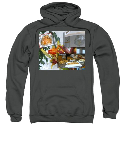 Holiday Collage Sweatshirt