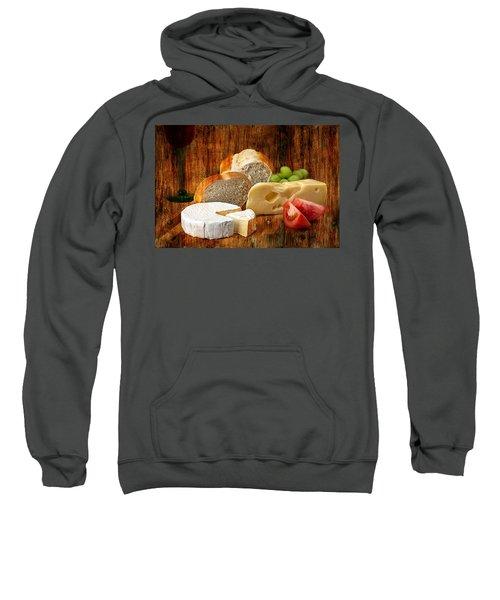 Norwegian Jarlsberg And Camembert Sweatshirt