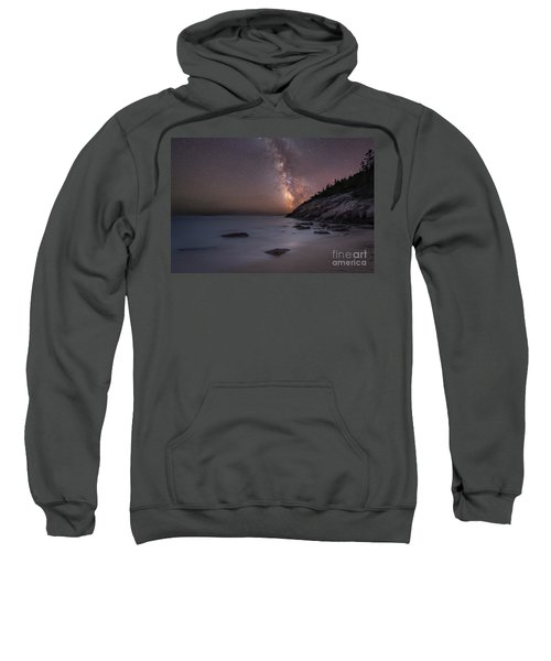 Sand Beach Acadia Milky Way Sweatshirt