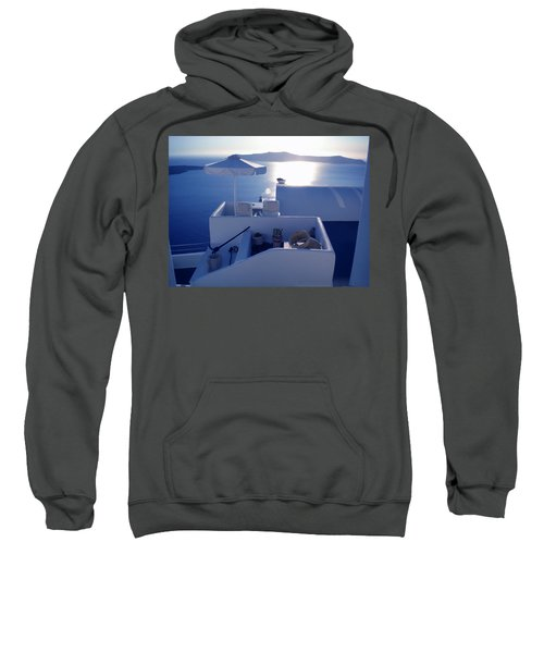 Santorini Island Greece Sweatshirt