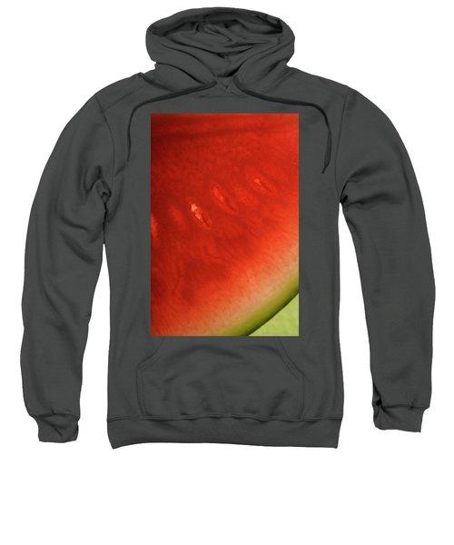 Slice Of Watermelon (detail) Sweatshirt