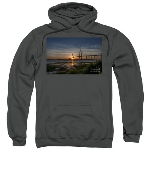 Sunset Over The Bridge Sweatshirt