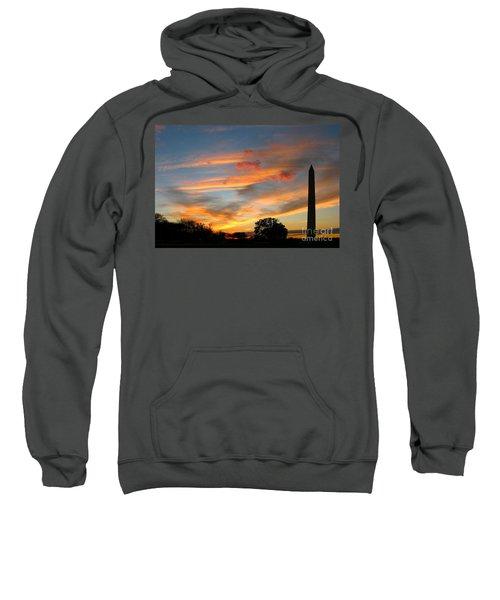 Evening Washington Monument Sweatshirt