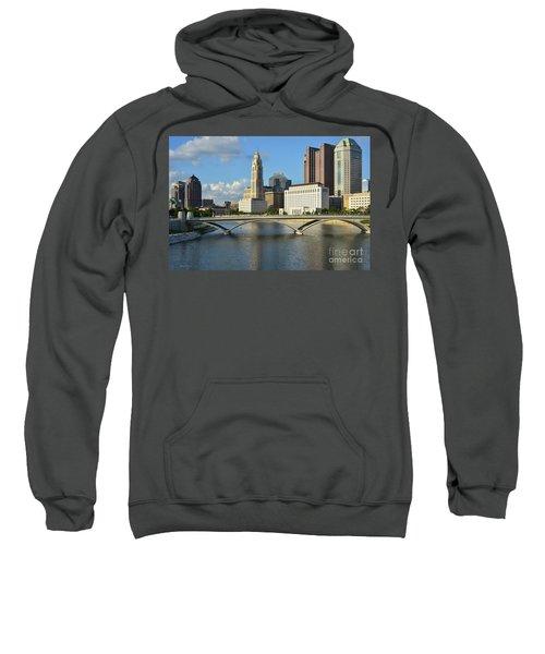 Columbus Ohio Skyline Photo Sweatshirt