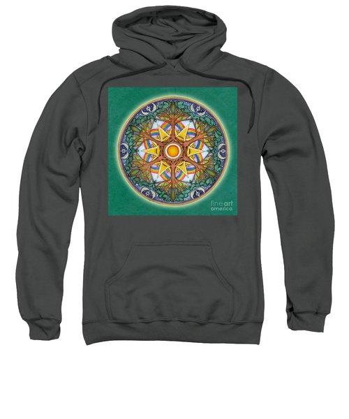 Heaven And Earth Mandala Sweatshirt