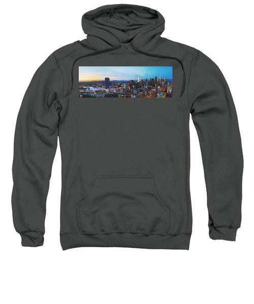 Los Angeles Skyline Sweatshirt by Kelley King