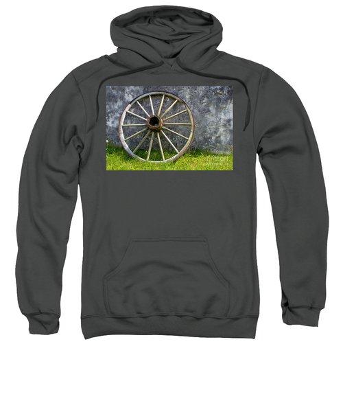 Antique Wagon Wheel Sweatshirt