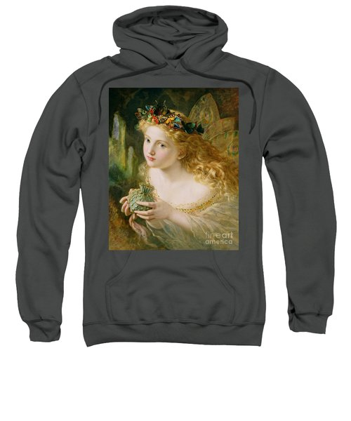 Take The Fair Face Of Woman Sweatshirt