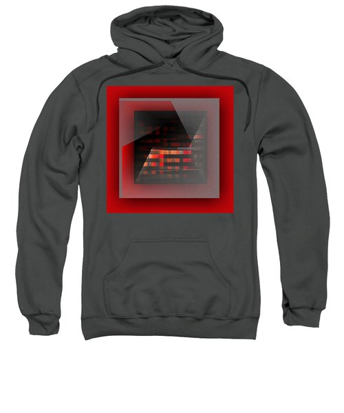 Sweatshirt featuring the digital art Color Recycling by Mihaela Stancu
