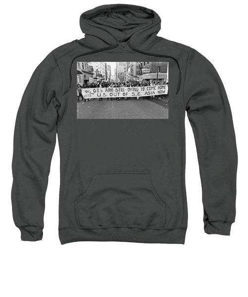 Anti Vietnam War Demonstration Sweatshirt