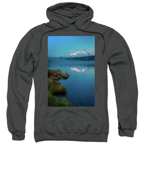 Panoramic View Of Mount Denali Sweatshirt