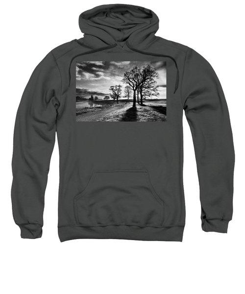 Winter Morning Shadows / Maynooth Sweatshirt