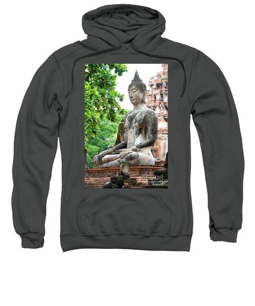 Buddha Statue Sweatshirt