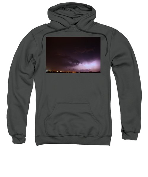 Our 1st Severe Thunderstorms In South Central Nebraska Sweatshirt