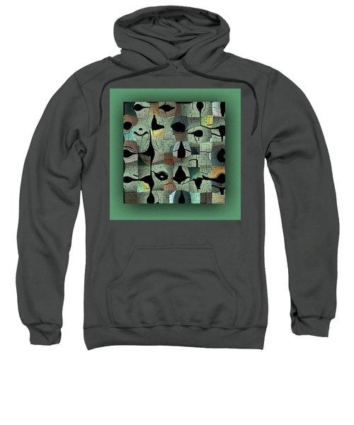 Sweatshirt featuring the digital art Contemporary by Mihaela Stancu