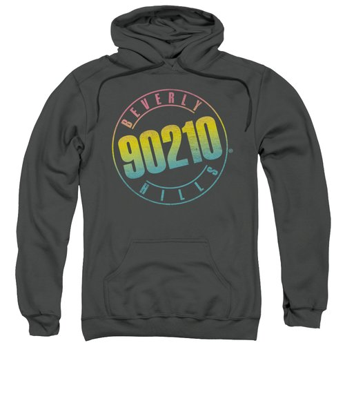 90210 - Color Blend Logo Sweatshirt by Brand A