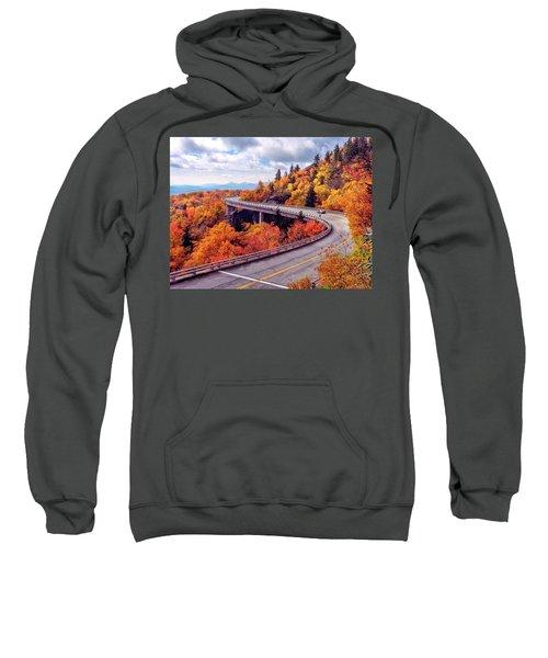 A Colorful Ride Along The Blue Ridge Parkway Sweatshirt