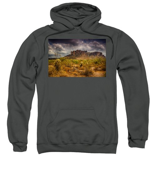 A Day At The Superstitions  Sweatshirt