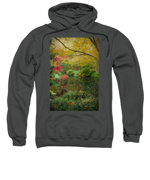 A Fall Afternoon With Message Sweatshirt
