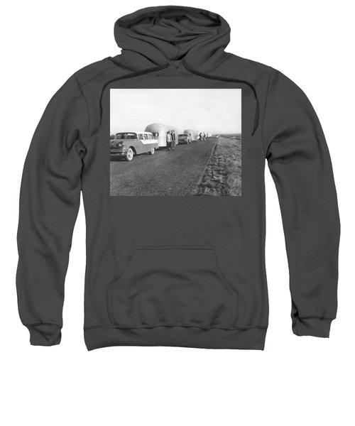 A Line Of Airstream Trailers Sweatshirt
