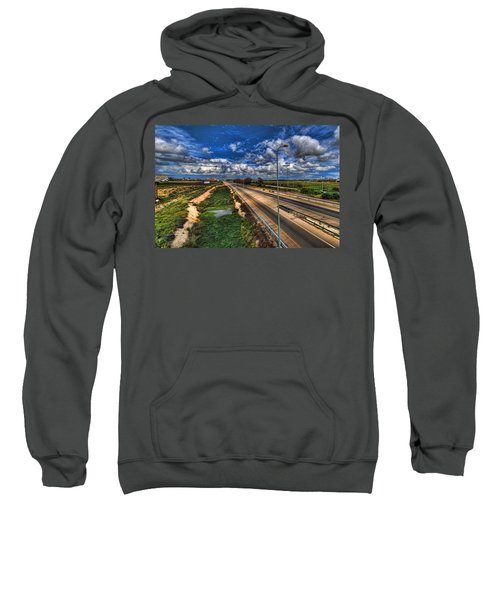 a majestic springtime in Israel Sweatshirt