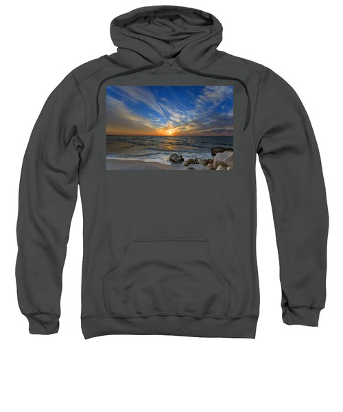 A Majestic Sunset At The Port Sweatshirt