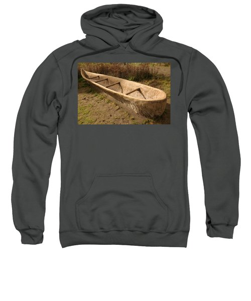 A Native American Fishing Boat Sweatshirt