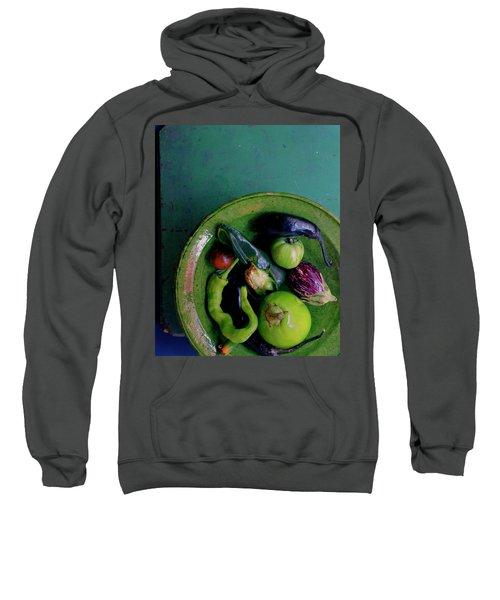 A Plate Of Vegetables Sweatshirt