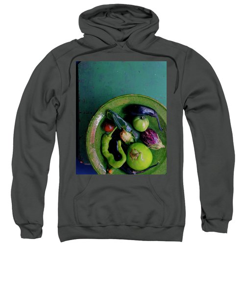 A Plate Of Vegetables Sweatshirt
