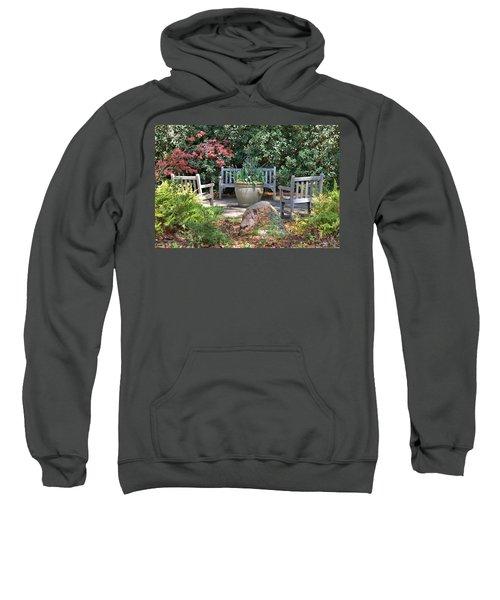 A Quiet Place To Meet Sweatshirt