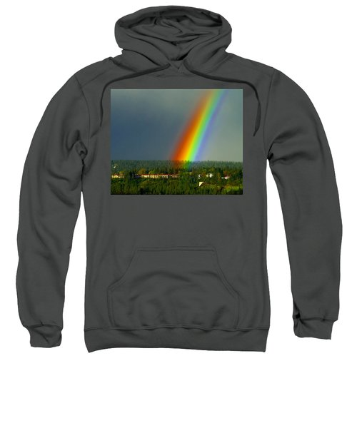 A Rainbow Blessing Spokane Sweatshirt
