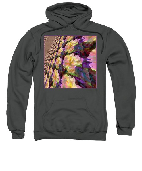 A Rose Is A Rose Is A Rose Is A Rose Sweatshirt