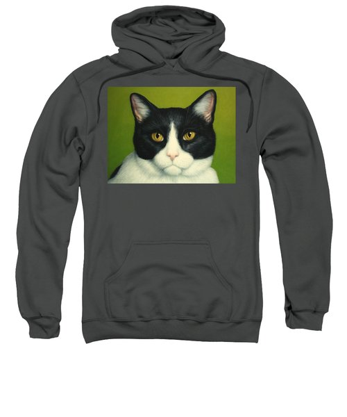 A Serious Cat Sweatshirt