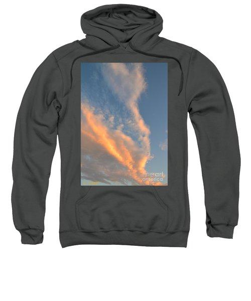 A Splash Of Peach Sweatshirt