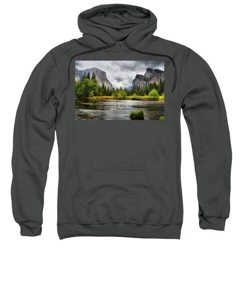 A Storm Draws Near  Sweatshirt