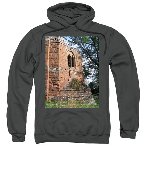 Sweatshirt featuring the photograph A Stroll Around Kenilworth by Denise Railey