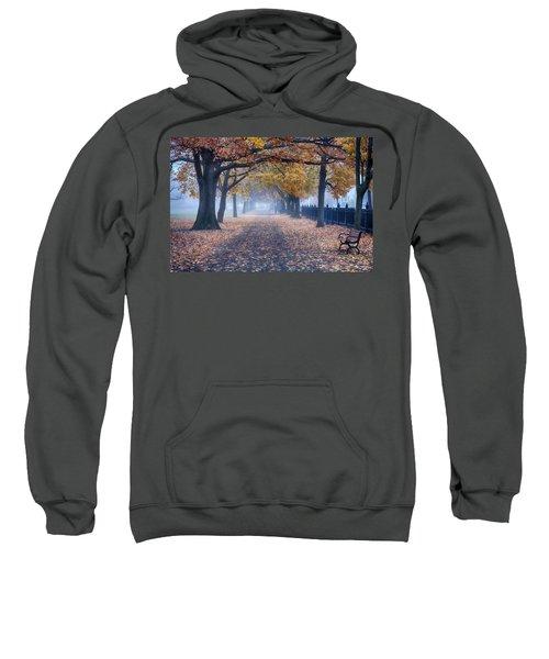 A Walk In Salem Fog Sweatshirt