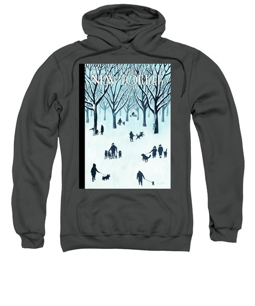 A Walk In The Snow Sweatshirt