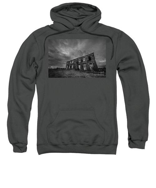 Abandoned History 2 Bw Sweatshirt
