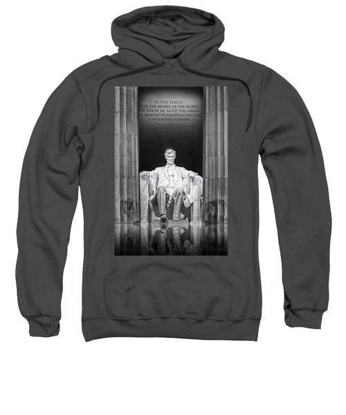Abraham Lincoln Memorial Sweatshirt