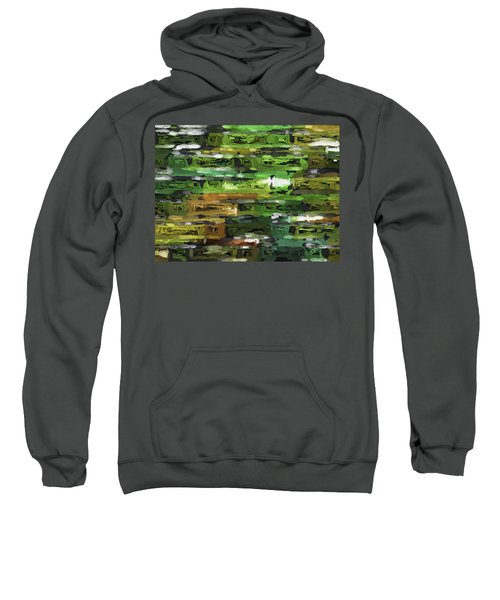 Abstract Artwork A4 Sweatshirt