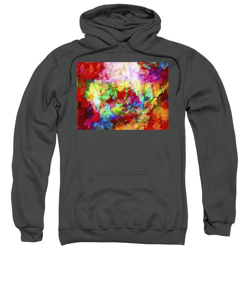 Abstract Artwork A8 Sweatshirt