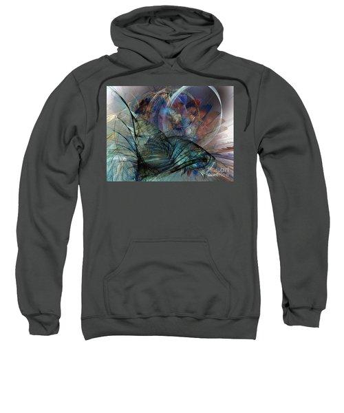 Abstract Art Print In The Mood Sweatshirt