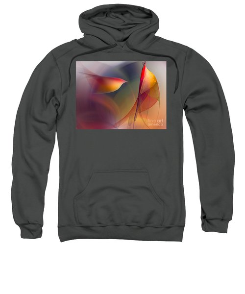 Abstract Fine Art Print Early In The Morning Sweatshirt