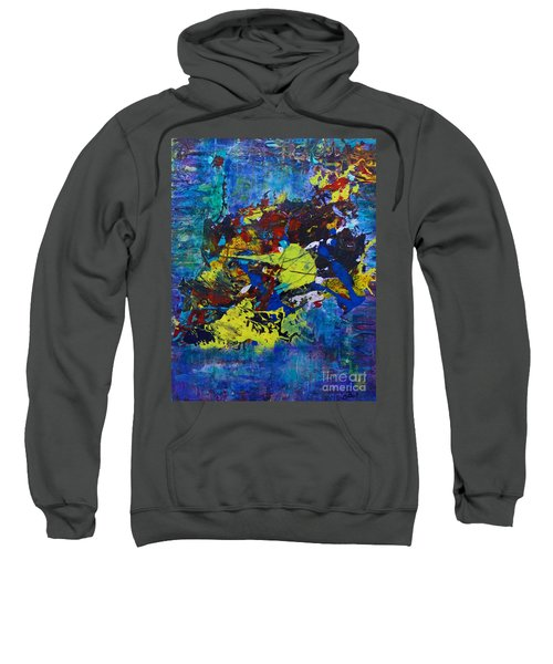 Abstract Fish  Sweatshirt
