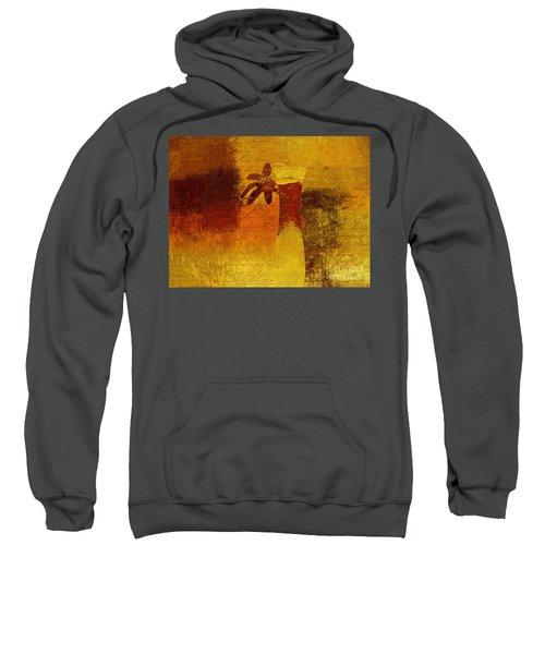 Abstract Floral - P01bt01c11c Sweatshirt