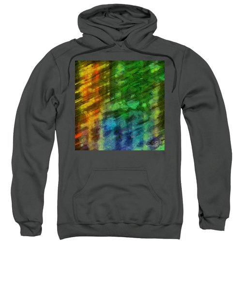 Abstract Lines 10 Sweatshirt