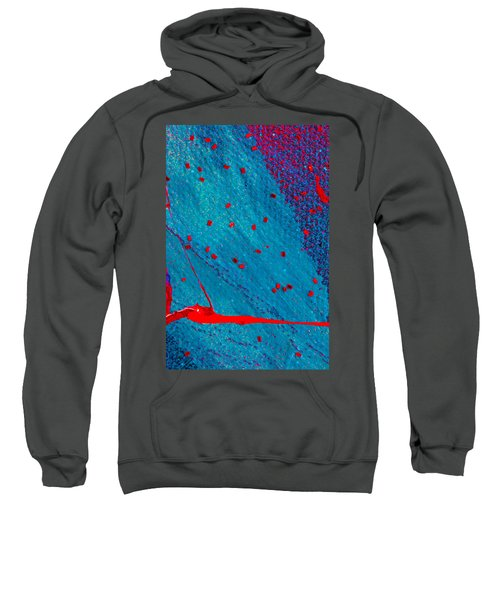 Abstract Original Artwork One Hundred Phoenixes Untitled Number Eleven Sweatshirt
